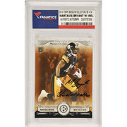 Martavis Bryant Pittsburgh Steelers Fanatics Authentic Autographed 2014 Topps Museum Collection Rookie #34 Card with Steeler Nation Inscription