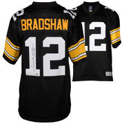 Terry Bradshaw Pittsburgh Steelers Fanatics Authentic Autographed Black Proline Jersey with HOF 89 Inscription
