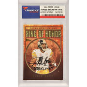 Hines Ward Pittsburgh Steelers Fanatics Authentic Autographed 2006 Topps Ring of Honor #RH40 Card with SB XL MVP Inscription
