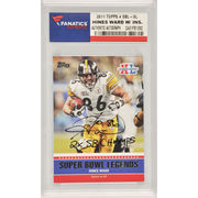 Hines Ward Pittsburgh Steelers Fanatics Authentic Autographed 2011 Topps Super Bowl Legends #SBL-XL Card with 2 X SB Champs Inscription