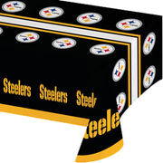 Pittsburgh Steelers Plastic Table Cover