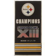 Pittsburgh Steelers Super Bowl XIII Banner Pins