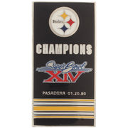 Pittsburgh Steelers Super Bowl XIV Banner Pins