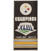 Pittsburgh Steelers Super Bowl XLIII Banner Pins