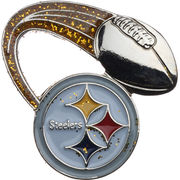 Pittsburgh Steelers Glitter Trail NFL Pin