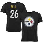 Le'Veon Bell Pittsburgh Steelers Tri-Blend Super Soft T-Shirt - Black