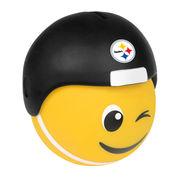 Pittsburgh Steelers Teamoji Wink Vinyl Bank