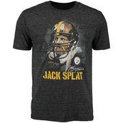 Jack Lambert Pittsburgh Steelers NFL Pro Line Retired Player Tri-Blend T-Shirt - Black