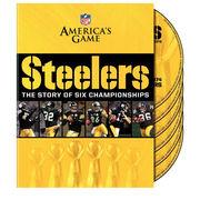Pittsburgh Steelers America's Game: Pittsburgh Steelers 6-Disc DVD Set