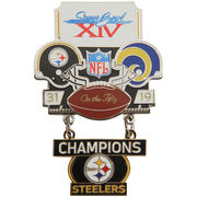 Pittsburgh Steelers WinCraft Super Bowl XIV Champions On the Fifty Pin
