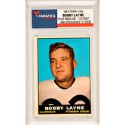Bobby Layne Pittsburgh Steelers 1961 Topps #104 Card