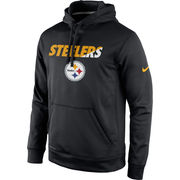 Pittsburgh Steelers Nike Kick Off Staff Performance Pullover Hoodie - Black