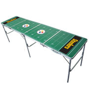 Pittsburgh Steelers 2' x 8' Tailgate Table