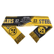 Pittsburgh Steelers Super Bowl XLIII On the Fifty Acrylic Scarf