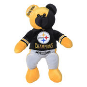 Pittsburgh Steelers Super Bowl XL Champions Thematic Bear