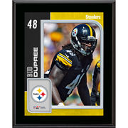 Bud Dupree Pittsburgh Steelers Fanatics Authentic 10.5'' x 13'' Sublimated Player Plaque