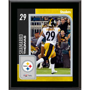 Shamarko Thomas Pittsburgh Steelers Fanatics Authentic 10.5