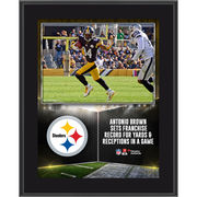 Antonio Brown Pittsburgh Steelers Fanatics Authentic 10.5'' x 13'' Sublimated Franchise Record Plaque