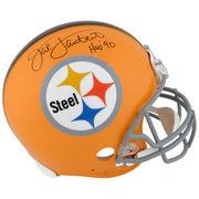 Jack Lambert Pittsburgh Steelers Fanatics Authentic Autographed 1962 Throw Back Proline Helmet with HOF Inscription