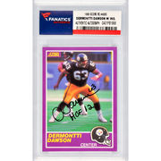 Dermontti Dawson Pittsburgh Steelers Fanatics Authentic Autographed 1989 Score Rookie #408S Card with HOF 12 Inscription