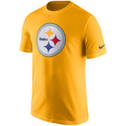 Pittsburgh Steelers Nike Essential Logo T-Shirt - Gold