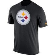 Pittsburgh Steelers Nike Legend Logo Essential 3 Performance T-Shirt - Black