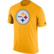 Pittsburgh Steelers Nike Legend Logo Essential 3 Performance T-Shirt - Gold