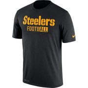 Pittsburgh Steelers Nike All Football Legend Performance T-Shirt - Black