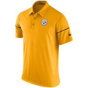 Pittsburgh Steelers Nike Team Issue Dri-FIT Polo - Gold