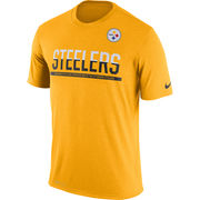 Pittsburgh Steelers Nike Team Practice Legend Performance T-Shirt - Gold