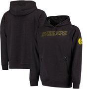 Pittsburgh Steelers NFL Pro Line Modern Dimension Hoodie - Charcoal/Black