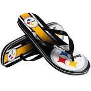 Pittsburgh Steelers Gradient Flip Flops