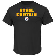 Pittsburgh Steelers Majestic Hot Phrase T-Shirt - Black