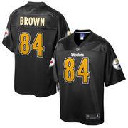 Antonio Brown Pittsburgh Steelers NFL Pro Line Reverse Fashion Jersey - Black