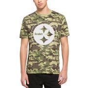 Pittsburgh Steelers '47 Alpha T-Shirt - Camo