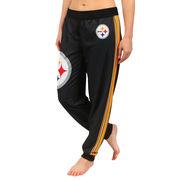 Pittsburgh Steelers Klew Women's Jogger Pants - Black