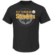 Pittsburgh Steelers Majestic Of Great ValueT-Shirt - Black