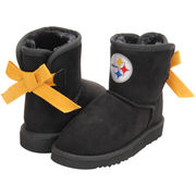 Pittsburgh Steelers Cuce Girl's Toddler Conqueror Boots