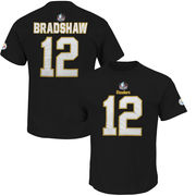 Terry Bradshaw Pittsburgh Steelers Majestic Hall of Fame Eligible Receiver II Big & Tall Name & Number T-Shirt - Black