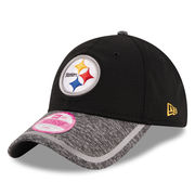 Pittsburgh Steelers New Era Women's Training Camp 9TWENTY Adjustable Hat - Black