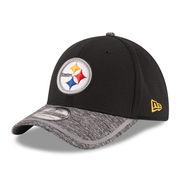 Pittsburgh Steelers New Era On Field Training Camp 39THIRTY Flex Hat - Black