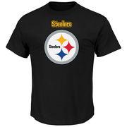 Pittsburgh Steelers Majestic Big & Tall Critcal Victory II T-Shirt - Black