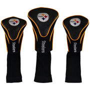 Pittsburgh Steelers 3-Pack Contour Golf Club Head Covers