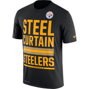 Pittsburgh Steelers Nike Legend Local Fans Performance T-Shirt - Black