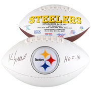 Kevin Greene Pittsburgh Steelers Fanatics Authentic Autographed White Panel Football with