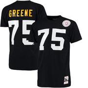 Joe Green Pittsburgh Steelers Mitchell & Ness Name & Number Throwback T-Shirt - Black