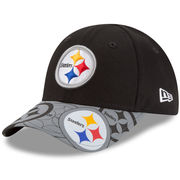Pittsburgh Steelers New Era Toddler Reflect Fuse 9FORTY Adjustable Hat - Black