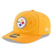 Pittsburgh Steelers New Era Sideline Classic Low Profile 59FIFTY Fitted Hat - Gold