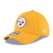 Pittsburgh Steelers New Era Sideline Tech 39THIRTY Flex Hat - Gold