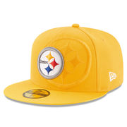 Pittsburgh Steelers New Era 2016 Sideline Classic 59FIFTY Fitted Hat - Gold